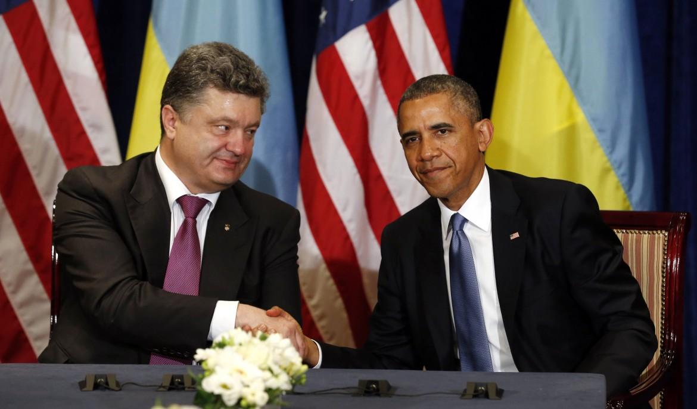 Obama e Poroshenko
