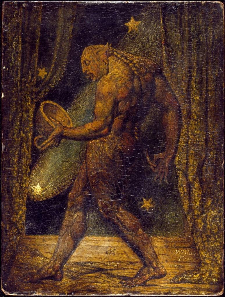 Il dipinto di Blake citato nel libro di Chesterton