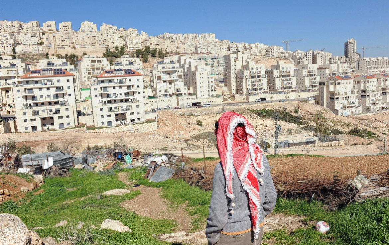 La colonia ebraica di Har Homa, tra Gerusalemme Est e Betlemme