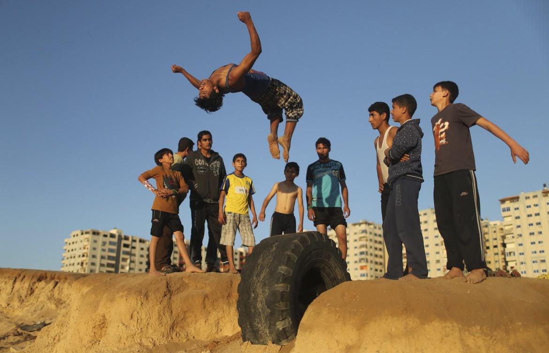 Gaza, campo profughi di Shati