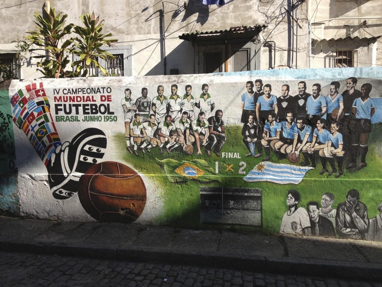Il murales di Jambeiro che racconta la tragedia nazionale brasiliana del 1950