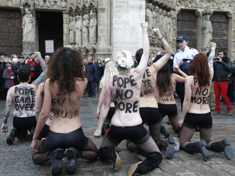 una scena da Femen - L'Ucraina non è in vendita di Kitty Green