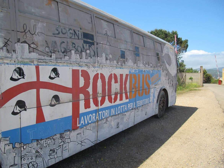 Campopisano, Rockbus a presidio della Rockwool