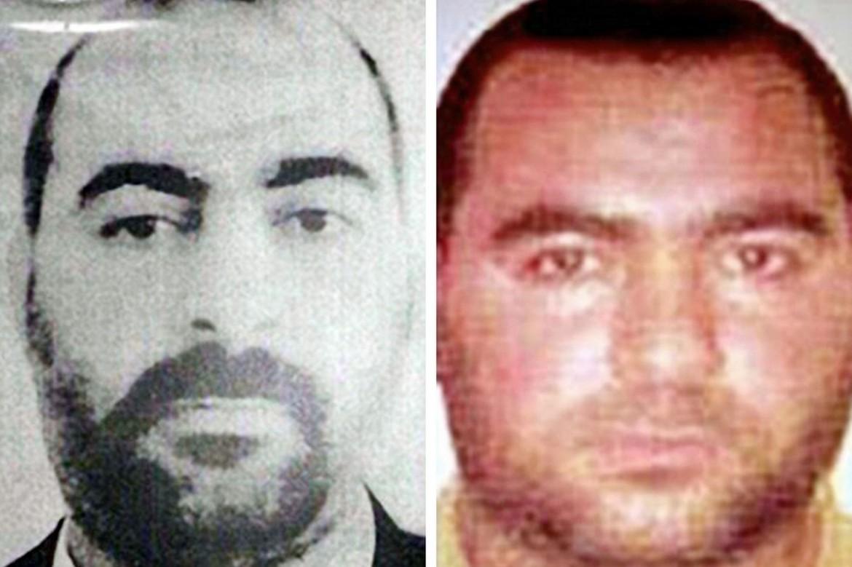 le uniche due foto disponibili di Abu Bakr al Baghdadi, leader dello Stato Islamico in Iraq e Siria
