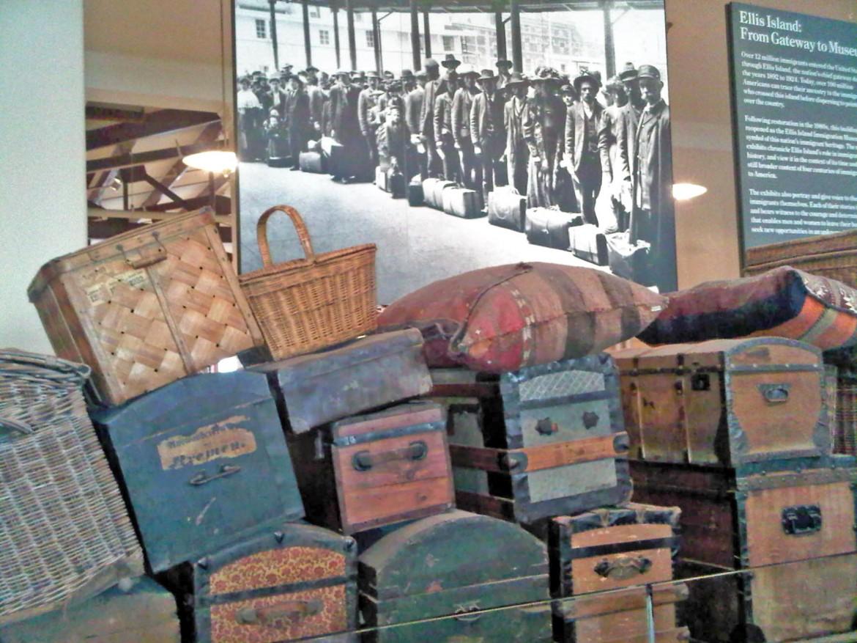 Il museo dell'immigrazione di Ellis Island