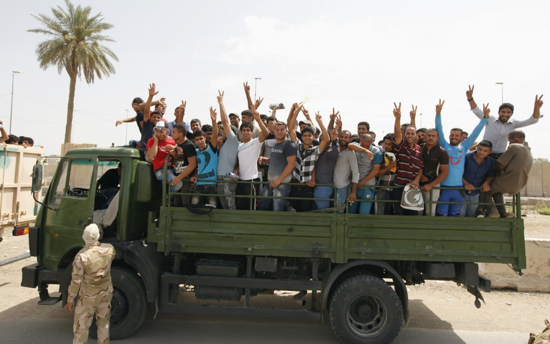 Volontari arruolati dal governo