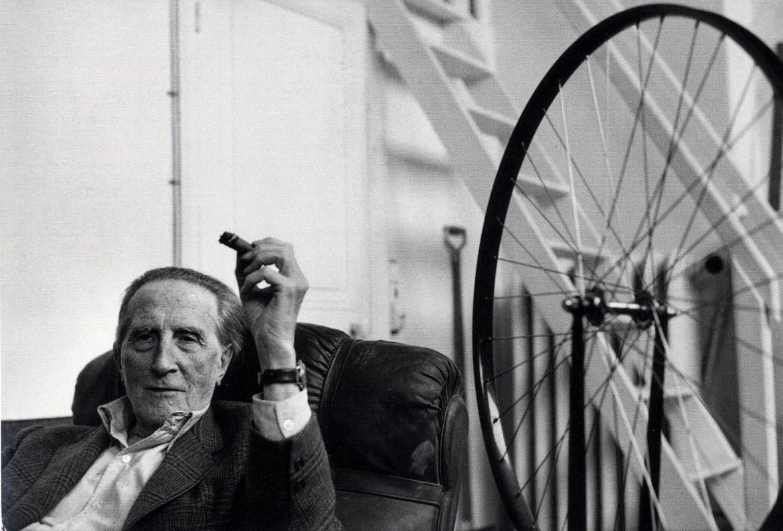 Marcel Duchamp ritratto da Henri Cartier Bresson