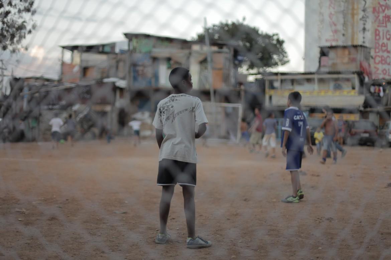 Nella Favela do Moinho durante Brasile-Croazia