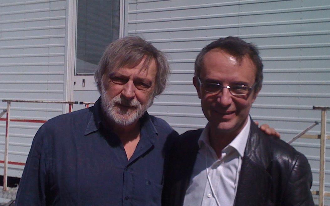 Con Gino Strada