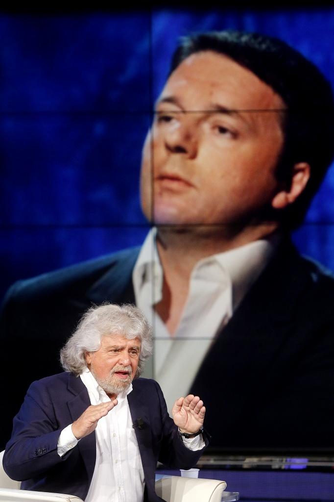 Beppe Grillo a Porta a Porta