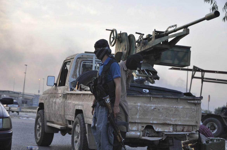 Miliaiznai dell'Isil in Iraq