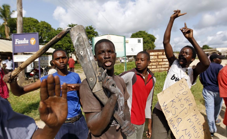 Proteste in Kenya contro gli attentati