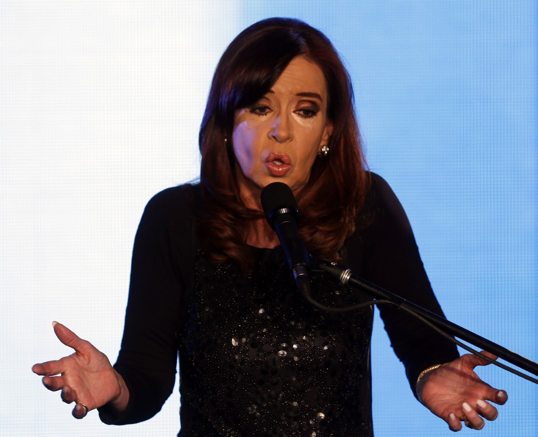 Cristina Kirchner, la presidenta argentina