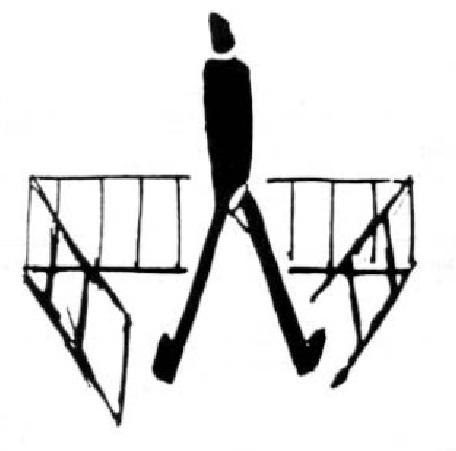Un disegno di Franz Kafka