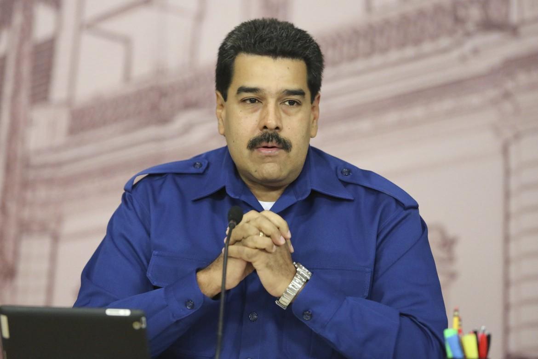 Il presidente del Venezuela, Nicolas Maduro