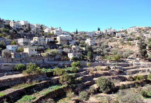 Il villaggio palestinese di Battir