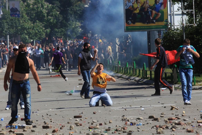 Gli scontri in Kosovo