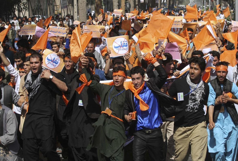 Manifestazione per Abdullah