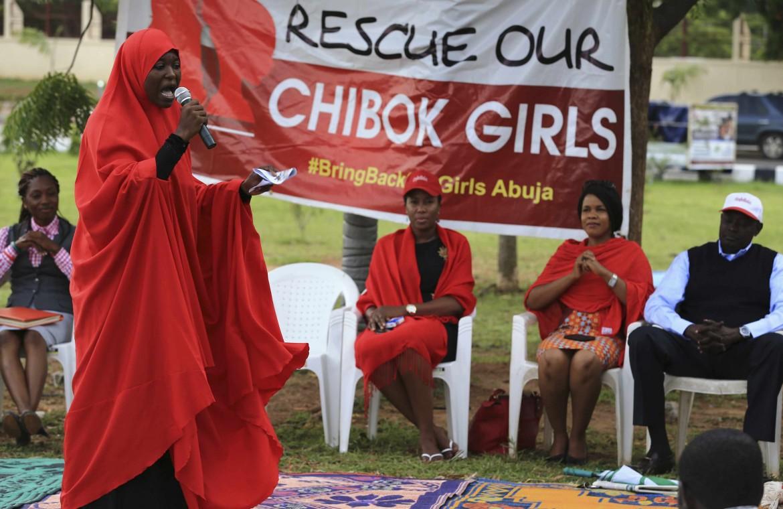 Nigeria, sit-in per la liberazione delle ragazze rapite