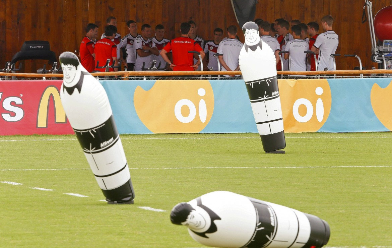 La Germania si allena (anche) così, a San André