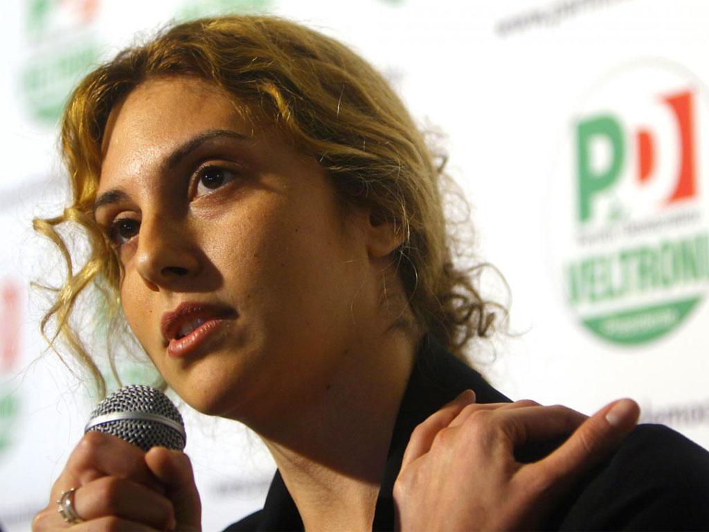 Il ministro della funzione pubblica Marianna Madia