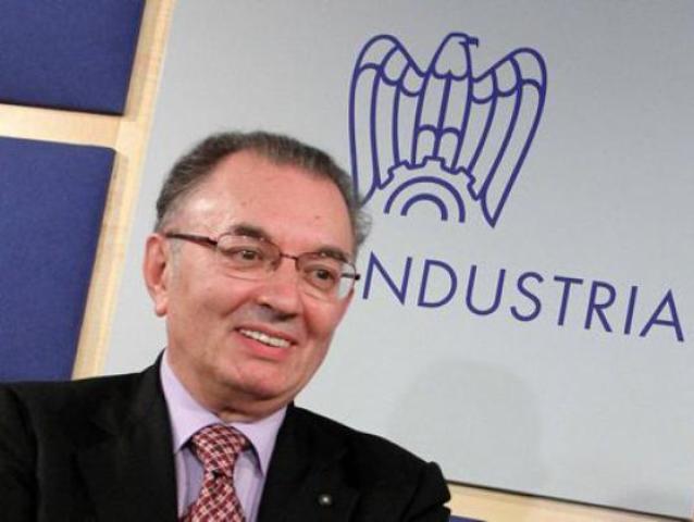 Giorgio Squinzi, presidente di Confindustria: il ramo regionale Unindustria Lazio ha espulso la Trelleborg