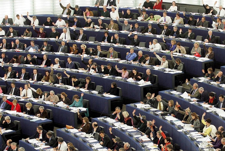 L'aula del parlamento europeo