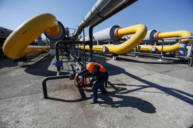 L'impianto di gas di Striy nell'Ucraina occidentale