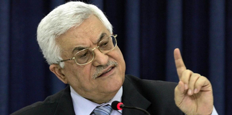 Il presidente palestinese Abu Mazen