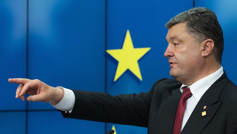 Il presidente ucraino Poroshenko