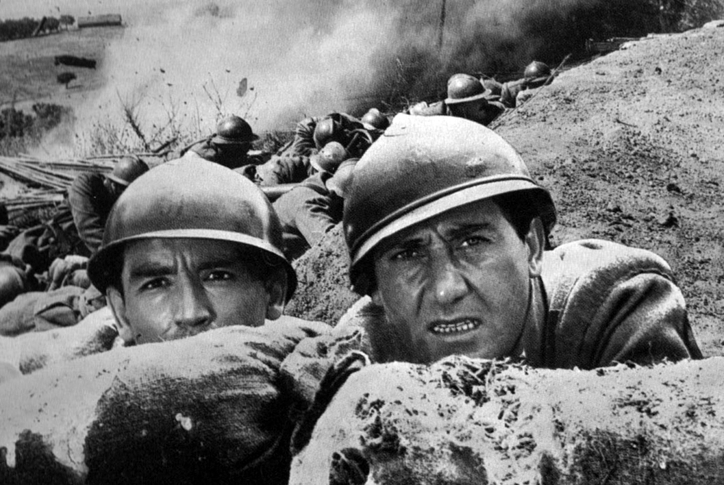 "Alberto Sordi e Vittorio Gassman ne ""La grande guerra"" (1959)"