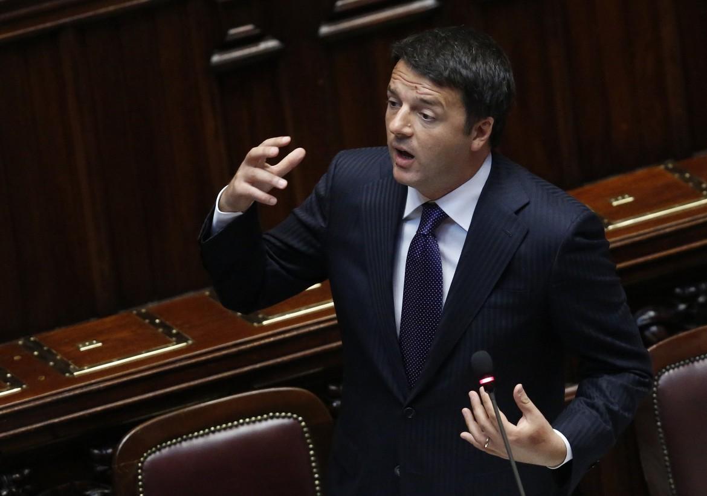 Matteo Renzi, segretario del Pd e presidente del consiglio