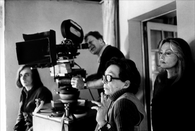 Marguerite Duras sul set