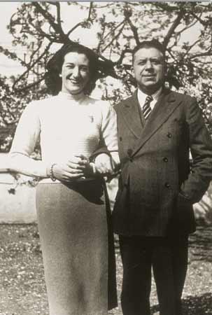 Maria Luisa Spaziani e Eugenio Montale