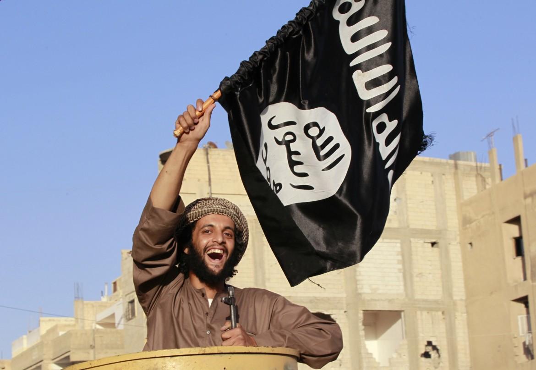 La bandiera nera jihadista