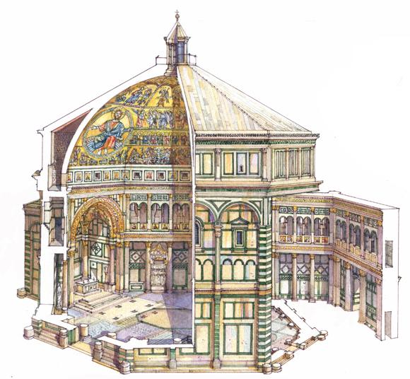 Il Battistero san Giovanni di Firenze