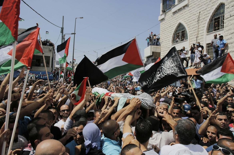 I funerali di Mohammed Abu Khdeir a Shuafat