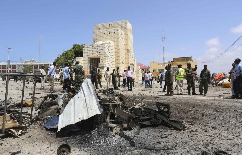 L'attentato al parlamento di Mogadiscio