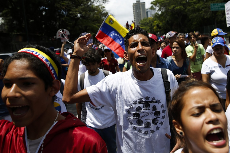 Anche l'opposizione in piazza ieri in Venezuela