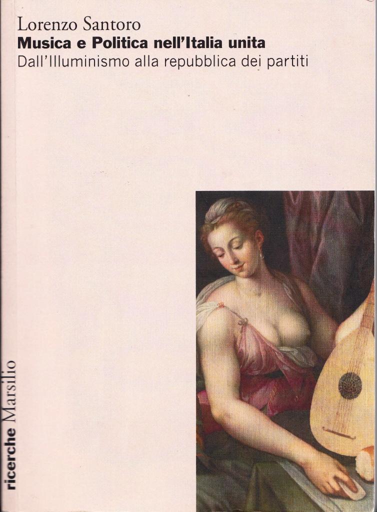 La copertina del libro di Lorenzo Santoro