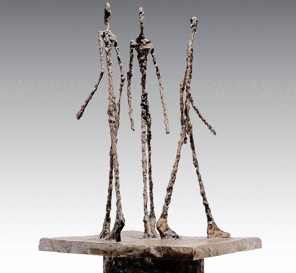 Una scultura di Alberto Giacometti
