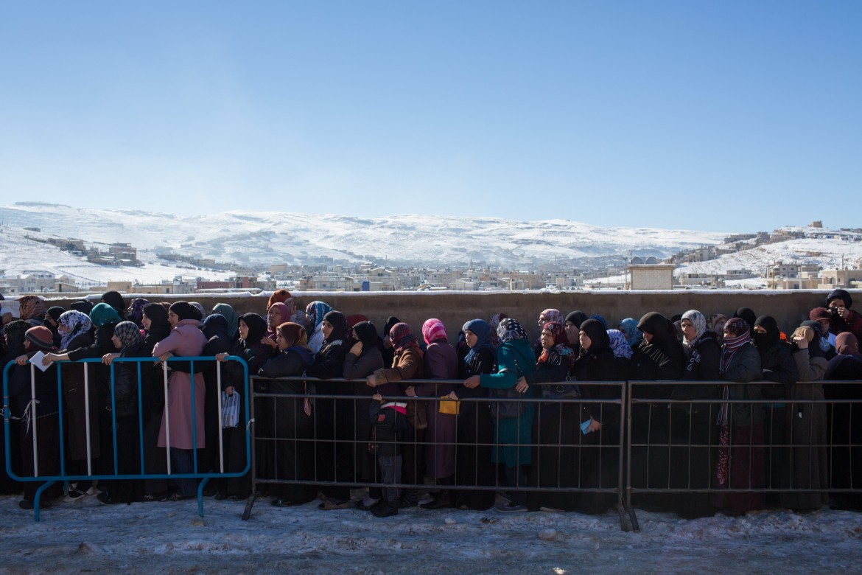 Profughe siriane