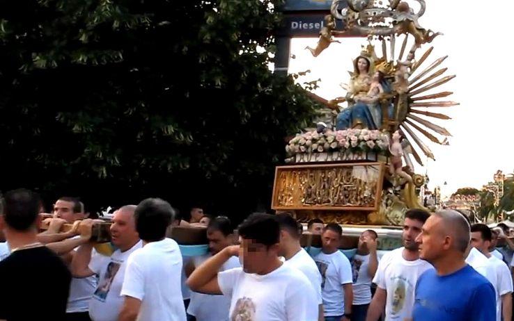 Processione a Oppido Mamertina (Rc)