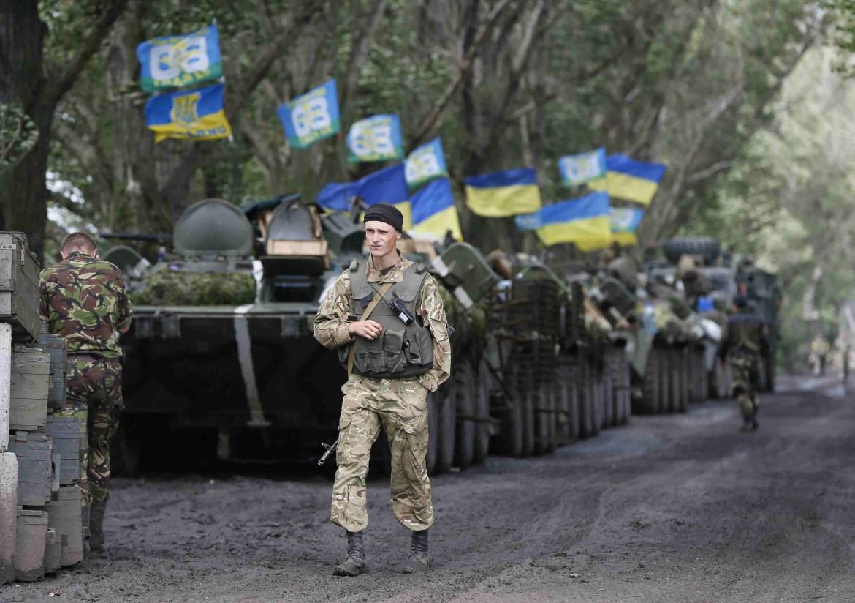 Esercito ucraino a Sloviansk