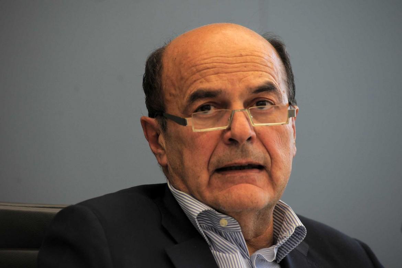 L'ex segretario Pd Pier Luigi Bersani