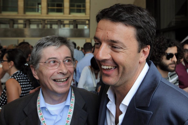 Vasco Errani e Matteo Renzi