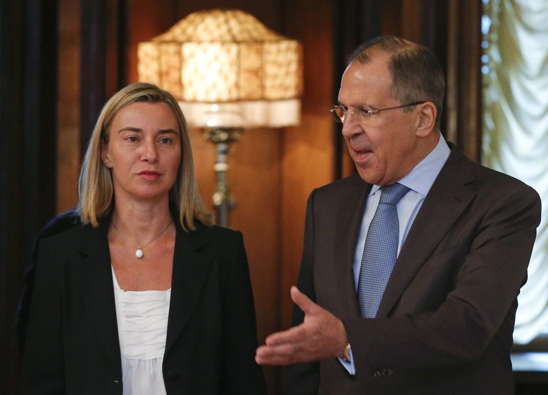Mogherini e Lavrov