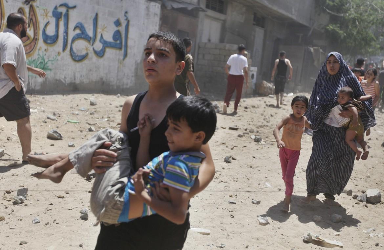 Striscia di Gaza, luglio 2014