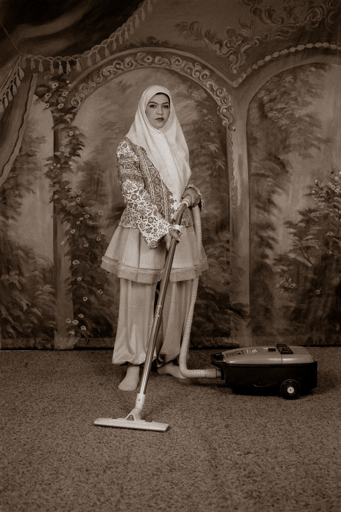 Shadi Ghadirian, «Qajar», 1998
