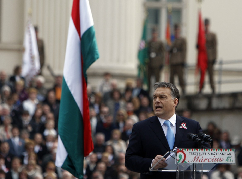Il premier ungherese Orbán